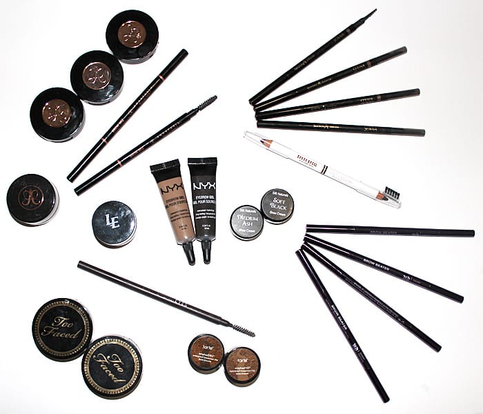Black and Cool Tones for Brows, Please!