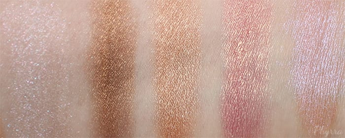Darling Girl Eyeshadow Swatches