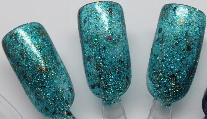 GlitterDaze the Wicked Witch of the West swatch