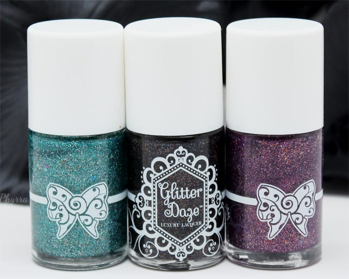 GlitterDaze the Witching Hour Collection Review and Swatches
