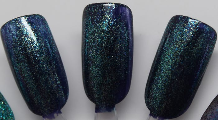 KBShimmer Soul Deep and Talk Qwerty to Me swatch