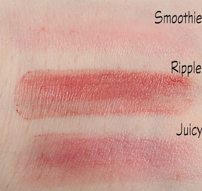 Silk Naturals Fall 2015 Lipsticks