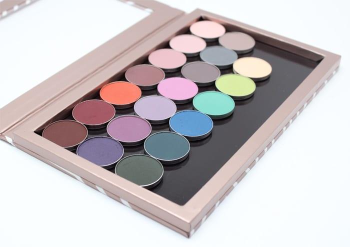 Makeup Geek Matte Eyeshadow Swatches Review