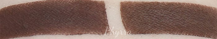 Silk Naturals Vain and Urban Decay Whiskey swatch
