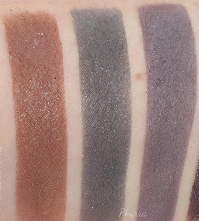 Aromaleigh Multi Purpose Matte Eyeshadows, contours, blushes