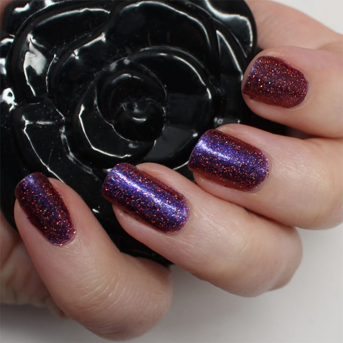 Fun Lacquer Cheers to the Holidays (H) Mani