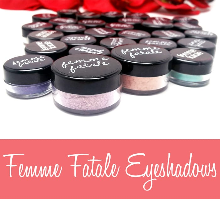 Femme Fatale Eyeshadows and Blushes