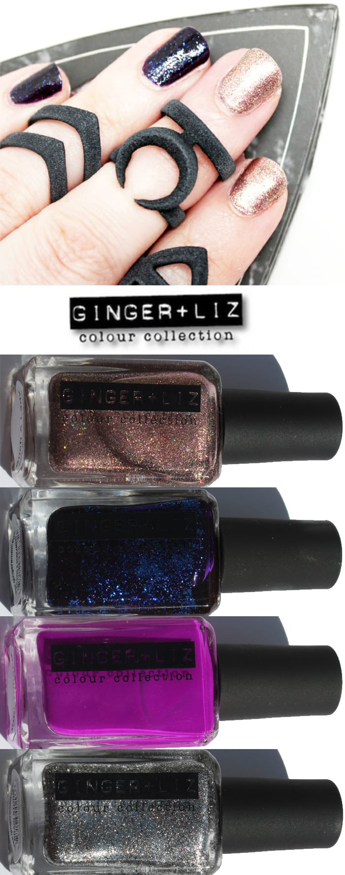 Ginger and Liz Nail Polish
