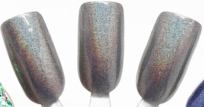 KBShimmer Coal in One swatch