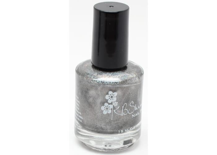 KBShimmer Coal in One nail polish