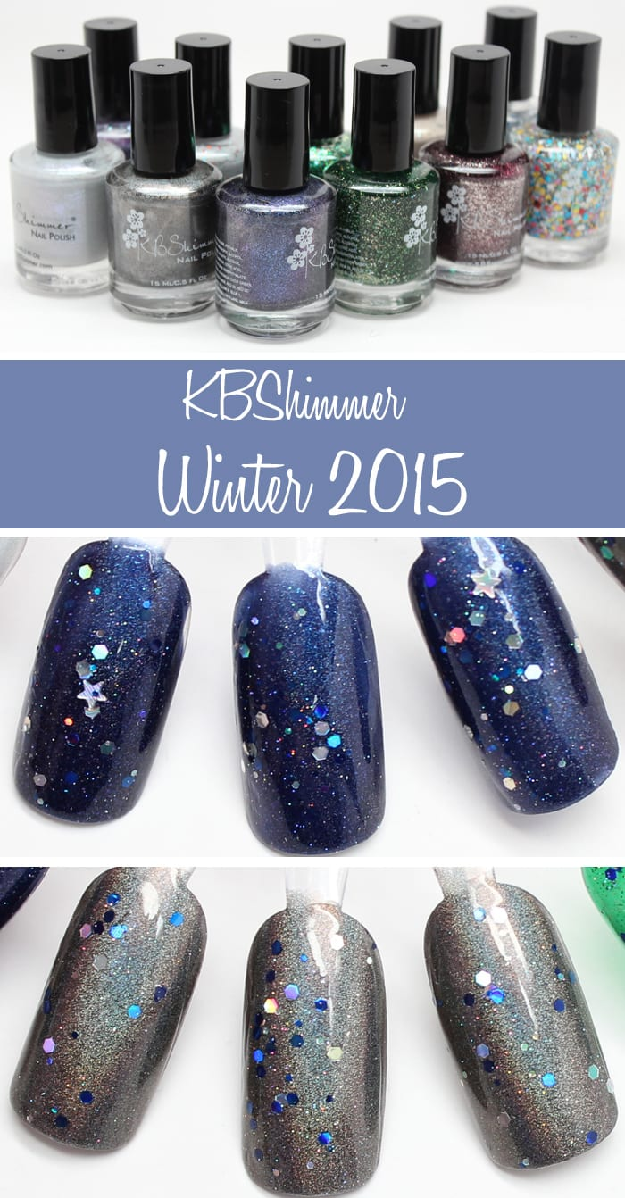 KBShimmer Winter 2015 Review and Swatches