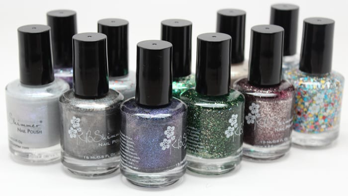 KBShimmer Winter Collection Review and Swatches