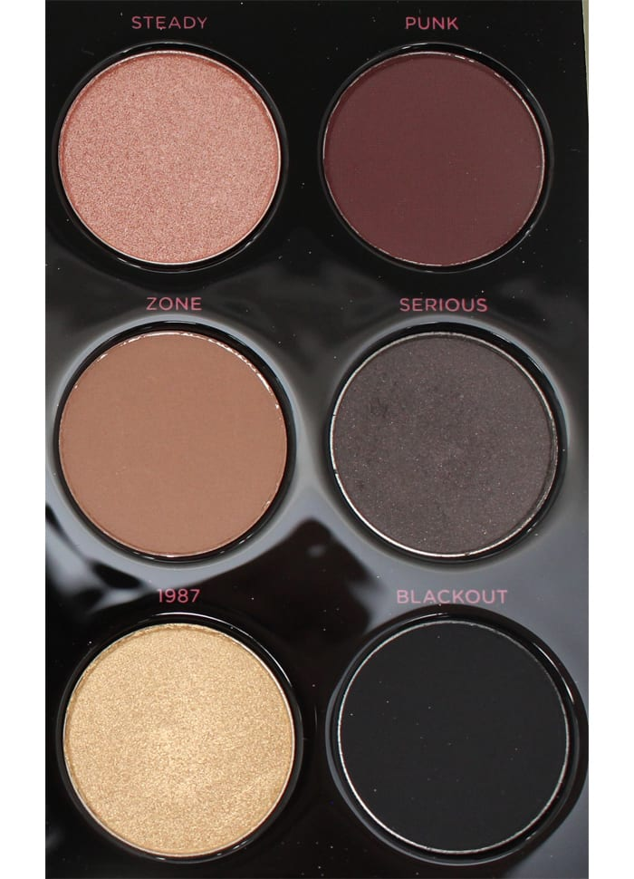 Urban Decay Gwen Stefani Palette Review and Swatches