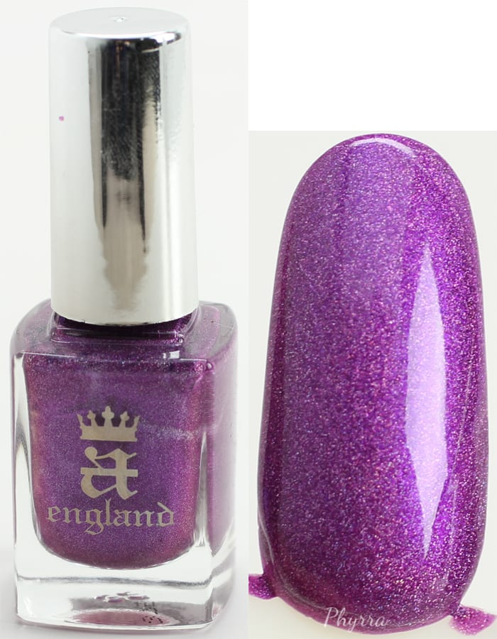 A England Crown of Thistles swatch