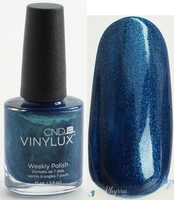 CND Peacock Plume swatch