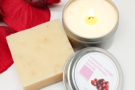 Lather Soap & Candle Gift Set