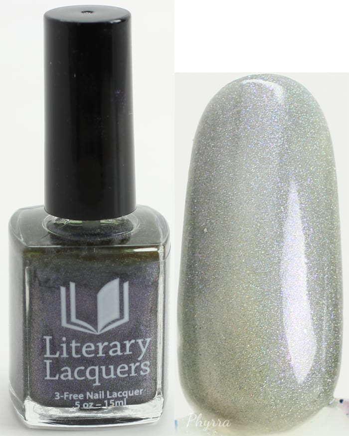Literary Lacquers Lurid Fog swatch