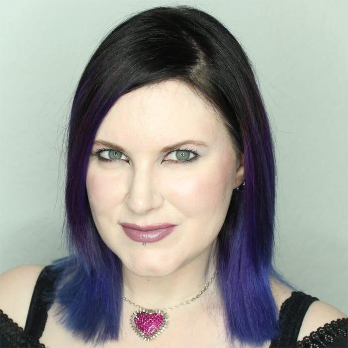 Wearing Lunatick Lipstick in Bruja