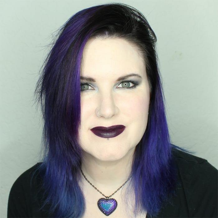 Wearing Ofra Long Wearing Liquid Lipstick in Queens