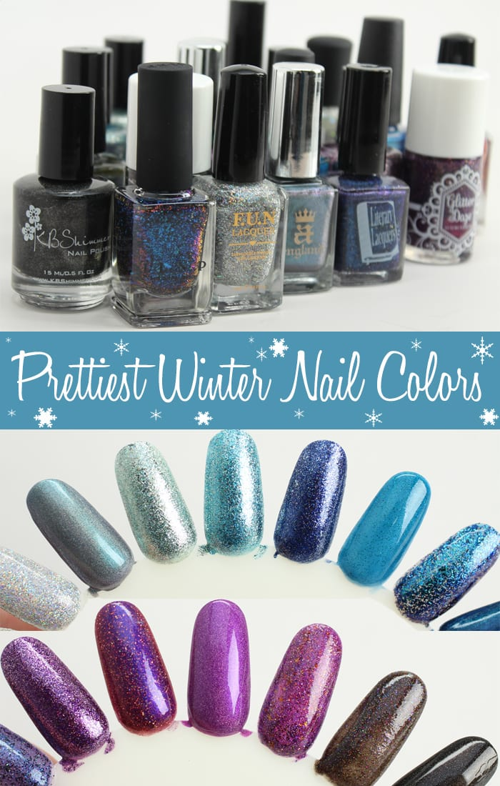 Prettiest Winter Nail Colors