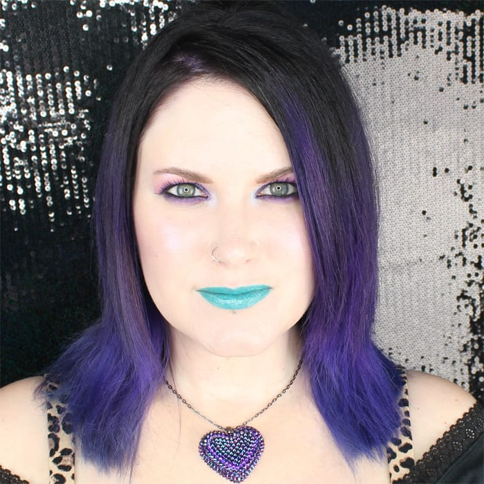 Sweetpea and Fay Liquid Lipstick in Teal Me Up