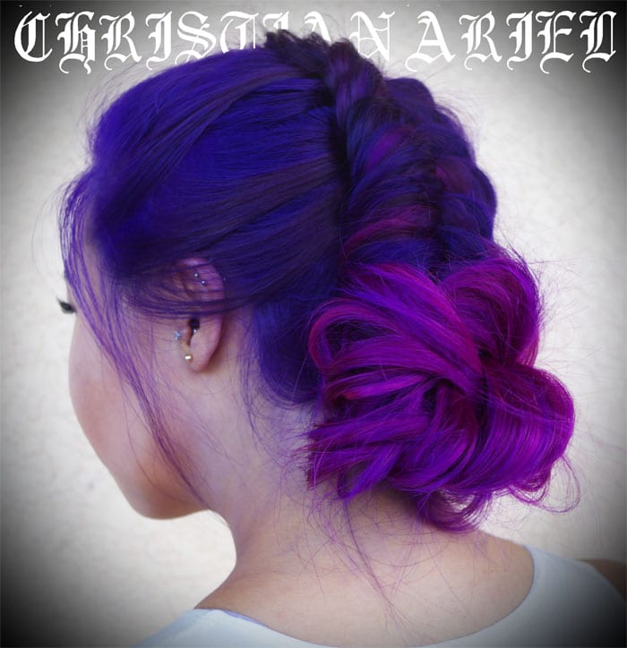 Pravana Vivids Violet, Wild Orchid, Pink and Magenta hair