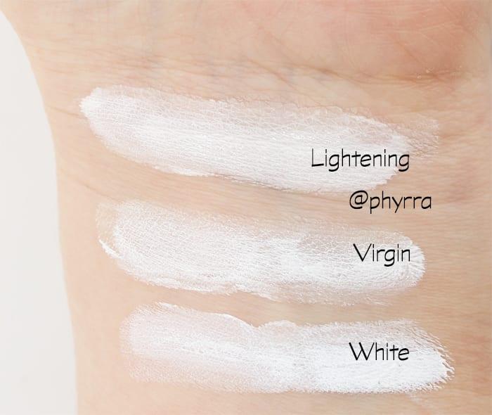 White Foundation Mixers
