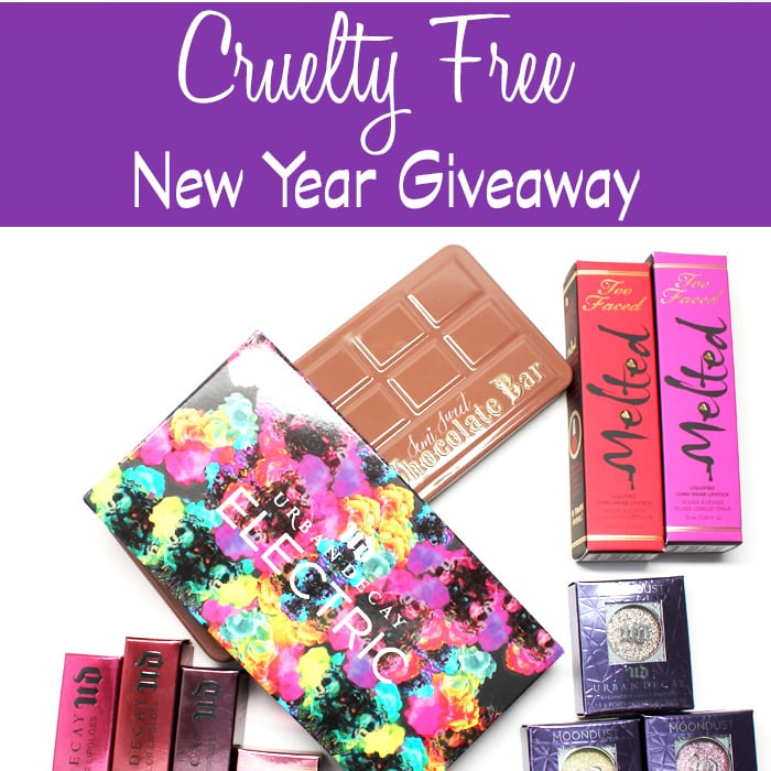 Cruelty Free New Year Giveaway