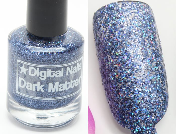 Digital Nails Dark Matter swatch