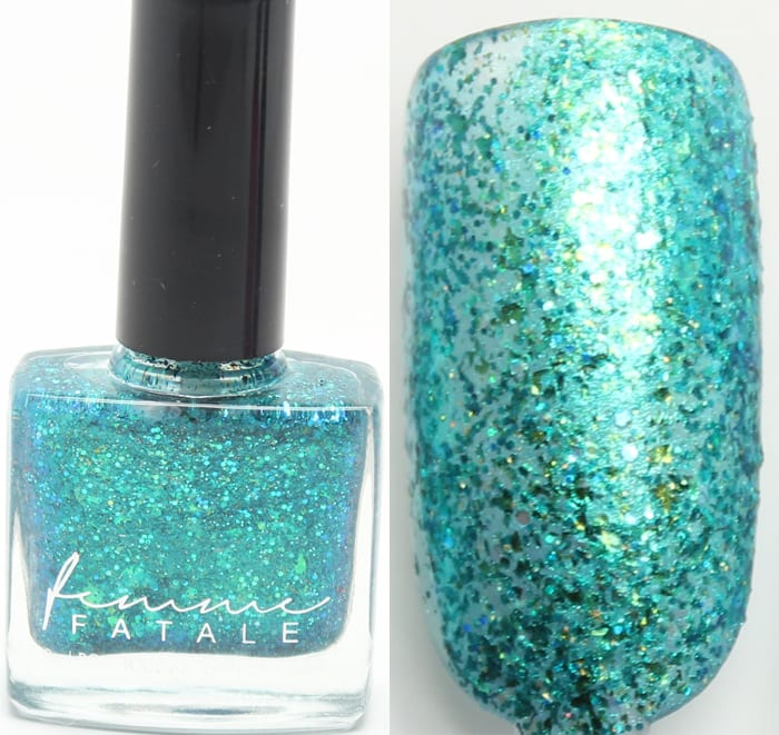 Femme Fatale Jewels from the Deep swatch