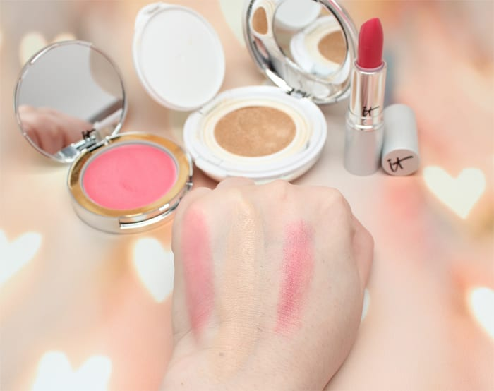 It Cosmetics New Year Your Most Beautiful Skin Fair and Je Ne Sais Quoi swatches