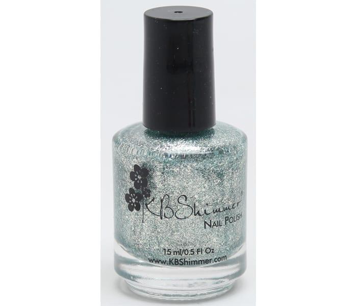 KBShimmer Aquamarine Nail Polish
