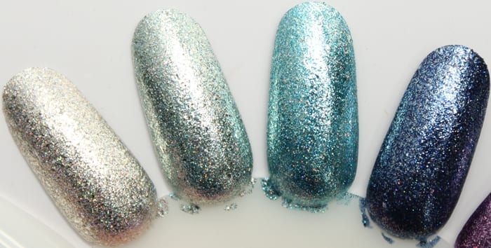 KBShimmer Birthstone Collection Swatches