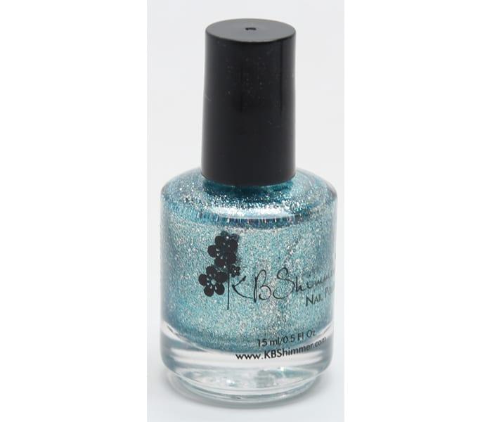 KBShimmer Blue Topaz Nail Polish