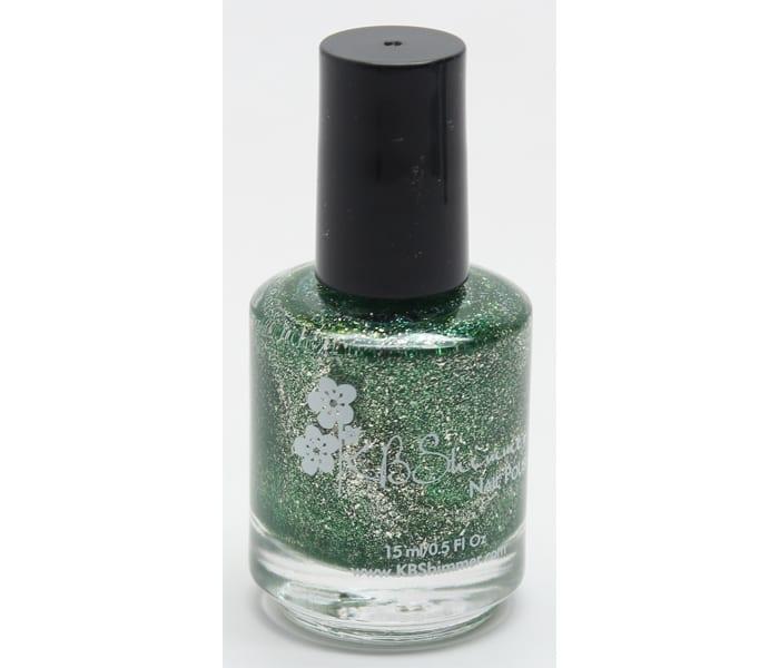 KBShimmer Emerald Nail Polish
