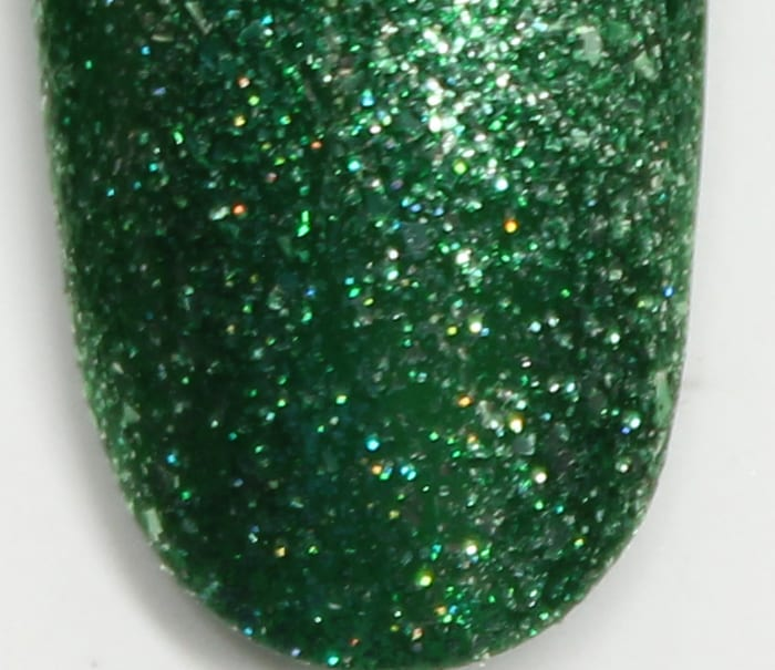 KBShimmer Emerald May swatch