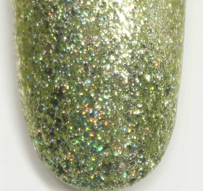KBShimmer Peridot August swatch