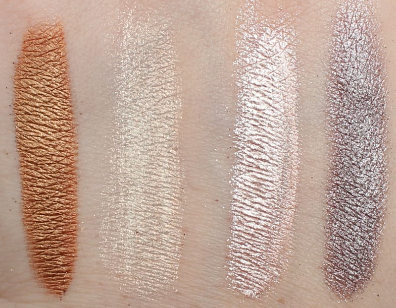 Osmosis Water Color Eyeshadow Swatches