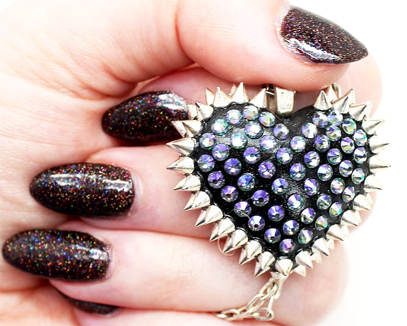 Bunny Paige Mini Spiked Heart