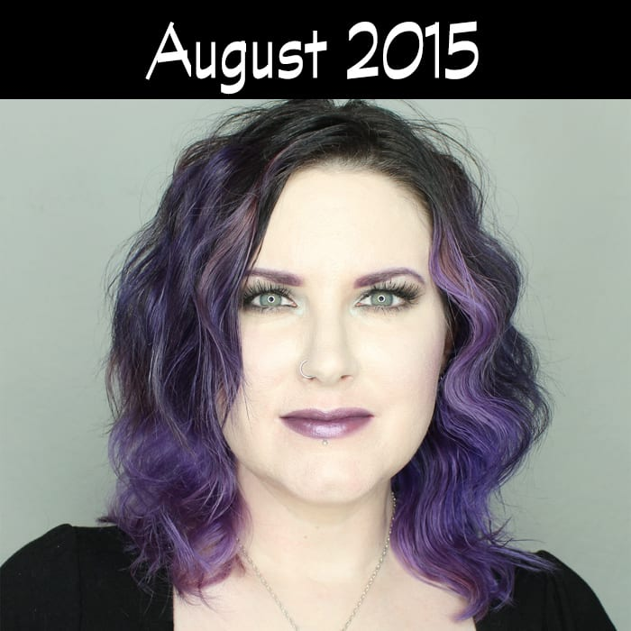 Hair Journey for 2015 - August