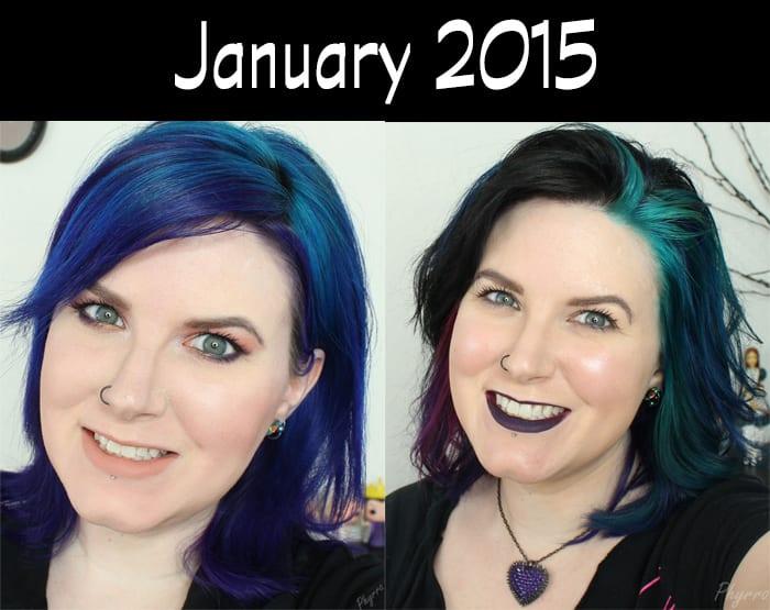 Hair Journey for 2015 - January