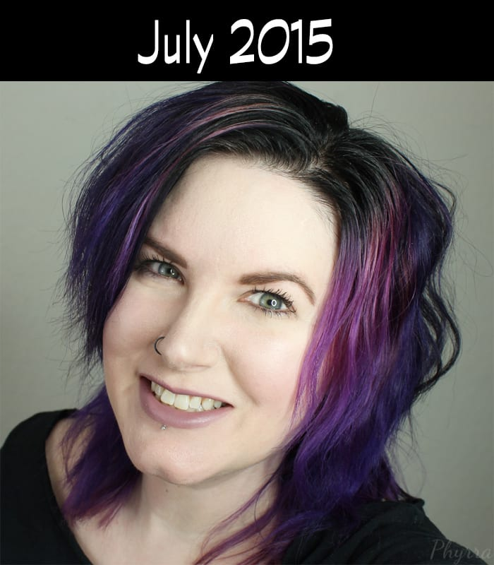 Hair Journey for 2015 - July