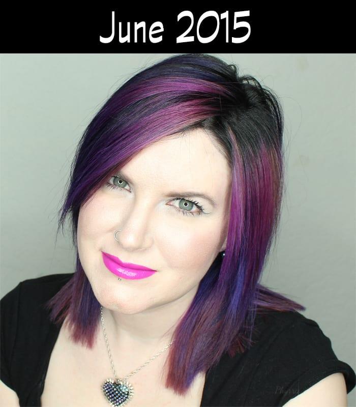 Hair Journey for 2015 - June