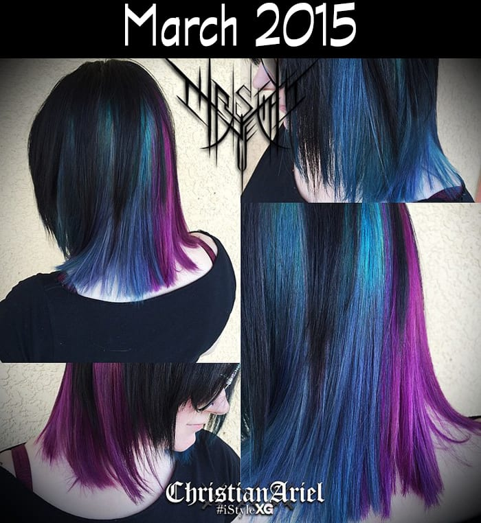 Hair Journey for 2015 - March