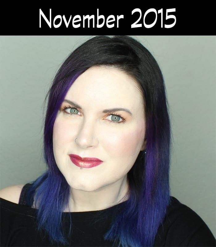 Hair Journey for 2015 - November