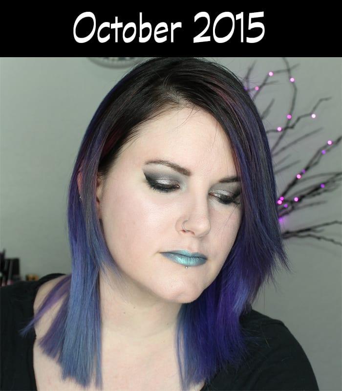Hair Journey for 2015 - October