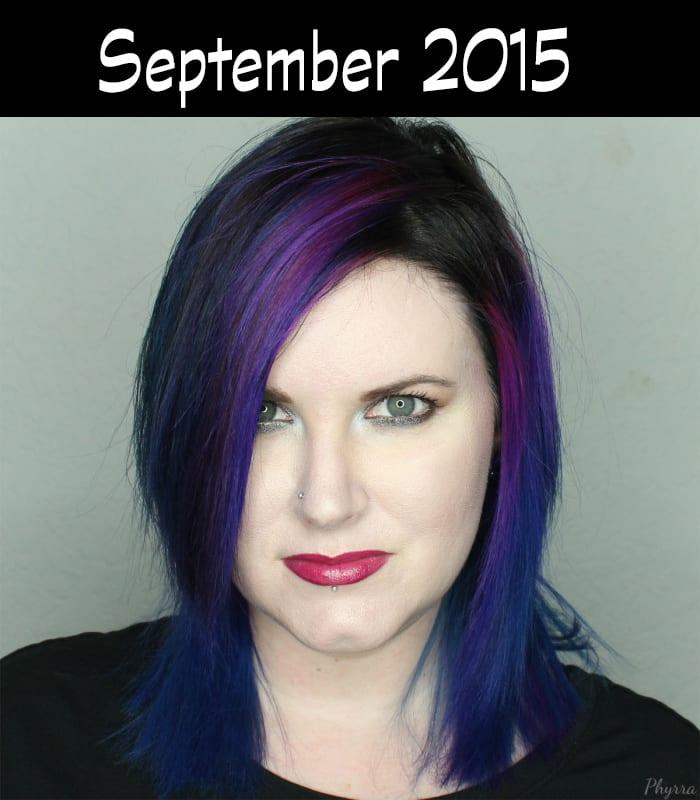 Hair Journey for 2015 - September