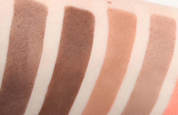 Saucebox Eyeshadow Singles swatches