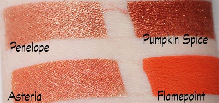 Sugarpill Orange and Copper