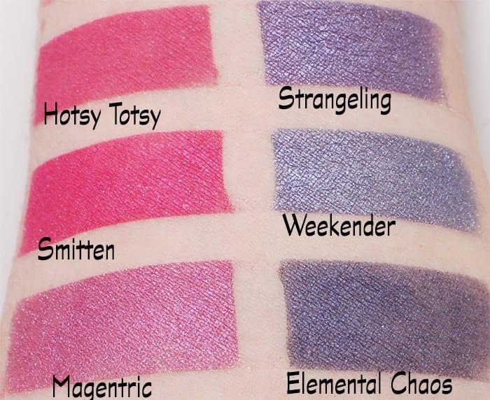 Sugarpill Pinks and Purples